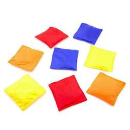 12pk Assorted Nylon Bean Bags Cornhole Toss Bag Game Baggo C