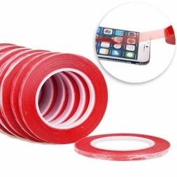 25M RED Film 3M Transparent DOUBLE SIDED STICKY ADHESIVE TAP