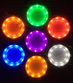 2pc LED Cornhole Light MIX/MATCH COLORS! - Corn Hole Bean Ba