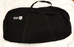 4 x 2 black cornhole board carrying