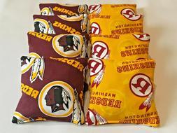 8 cornhole washington redskins bean bags baggo