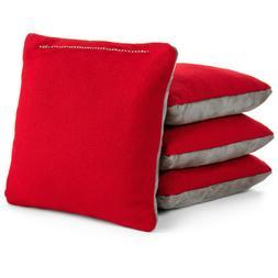 All Weather Pro Style Cornhole Bags - 4 Stick & Slick - Sued