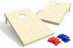 Backyard Champs Corn Hole Outdoor Game: 2 Regulation Wood Co