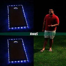 BLINNGO Cornhole Ring Lights and Cornhole Edge Lights, LED C