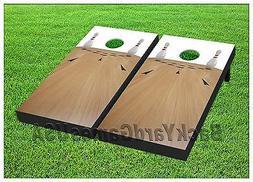 BOWLING Custom Cornhole Boards BEANBAG TOSS GAME w Bags Bowl