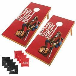 Captain Morgan Bean Bag Toss Cornhole Corn Hole Game Boards