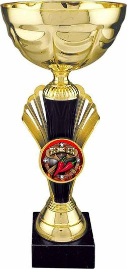 CHILI COOK OFF Gold Cup Trophy  by DECADE AWARDS