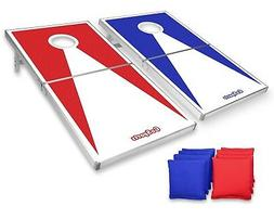 GoSports Classic Regulation Size Cornhole Set Includes 8 Bag