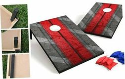 Backyard Champs Corn Hole Outdoor Game: 2 Portable MDF Cornh