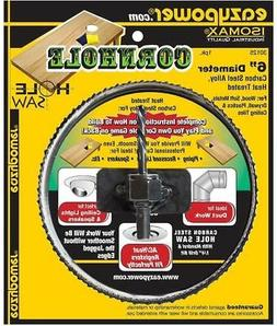 """Eazypower CORNHOLE 6 """" HOLE SAW Blade Wood Drill for Unfinis"""