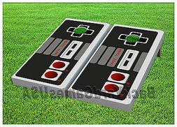 CORNHOLE BEANBAG TOSS GAME w Bags Game Boards Nintendo Set 1