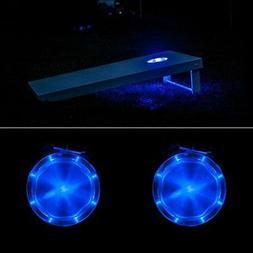 Sandal Sports Cornhole Night LED Lights,  - Blue