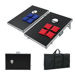CornHole PRO Regulation Size Bean Bag Toss Game Superior Alu