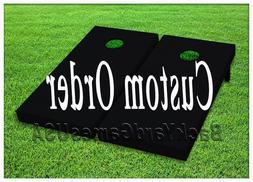 CUSTOM ORDER Cornhole Boards Personalized BEANBAG TOSS GAME
