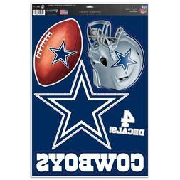 """Dallas Cowboys 11"""" x 17"""" Multi Use Decals  - Auto,Windows,Co"""