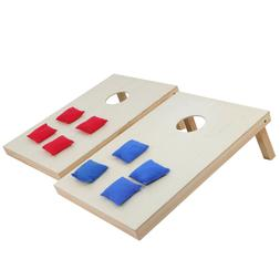 Foldable Bean Bag Toss Cornhole Game Set Tailgate Boards 3 x