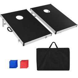 Foldable Bean Bag Toss Cornhole Game Set Tailgate Regulation