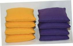 Free Donkey Sports  Regulation Cornhole Bags. Set of 8. Corn