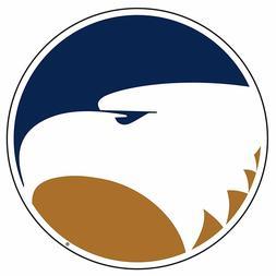 GSU GEORGIA SOUTHERN Eagle Head Cornhole Decals / Set of 2
