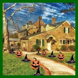 halloween decorations outdoor pathway markers jack o