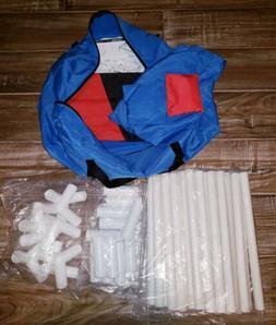 Himal Portable Assemble PVC Framed CornHole Game Set with 8