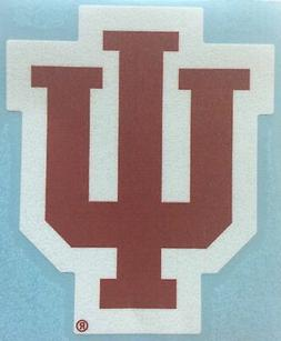 Craftique Indiana Hoosiers, Red/White Large Premium Vinyl De