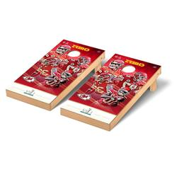 Kansas City Chiefs Super Bowl LIV 2' x 4' Regulation Cornhol