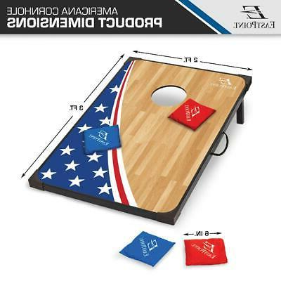 2 Bag Toss Boards Party Outdoor Fun Family