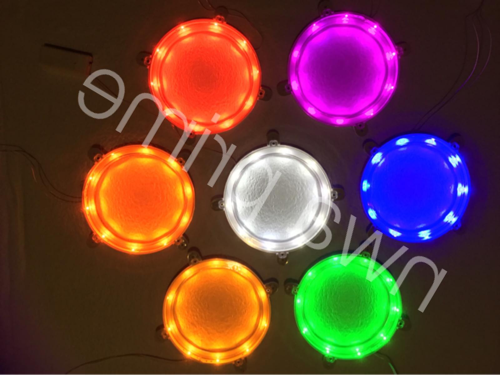 2pc led cornhole light mix match colors