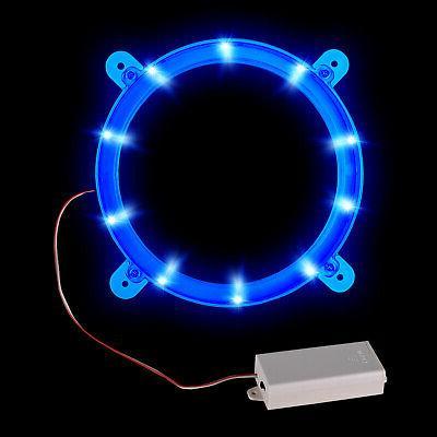2pcs Game Night Light Hole Bean Board LED Blue Lamp