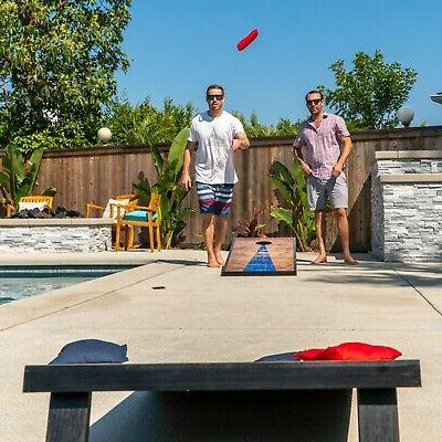 4'x2' Cornhole Boards with Steel | Includes and