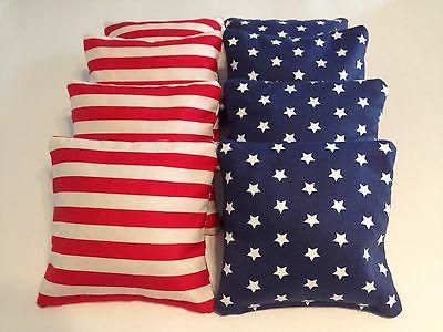 8 american flag cornhole bean bags bag