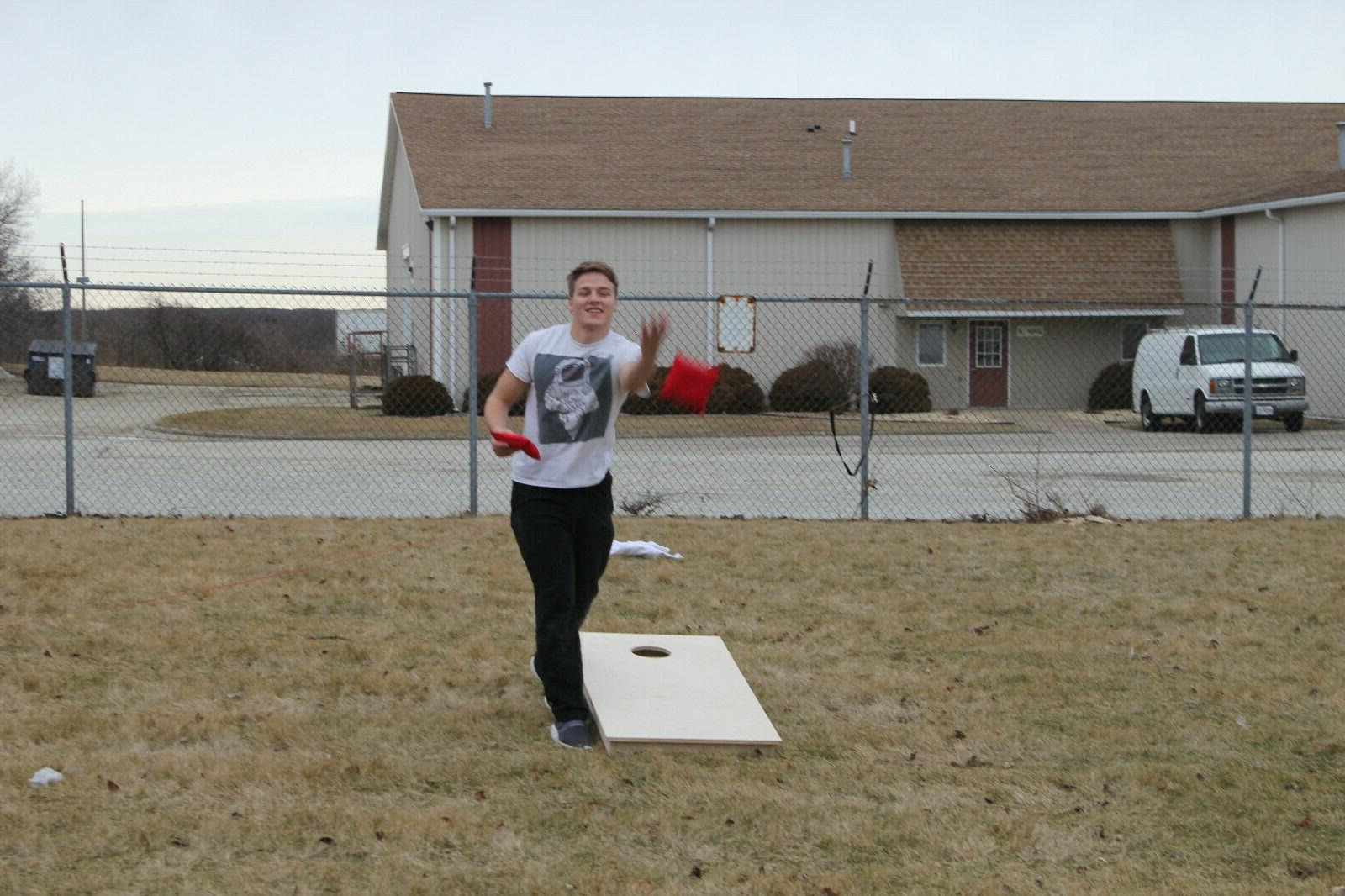 """UNFINISHED CORNHOLE BOARDS BEANBAG TOSS GAME """"pick your"""