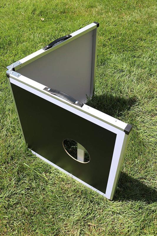 Aluminium Cornhole Regulation Size Bean Game x 2FT