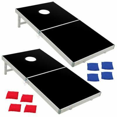 Aluminium Cornhole Pro Regulation Size Bean Game 2FT