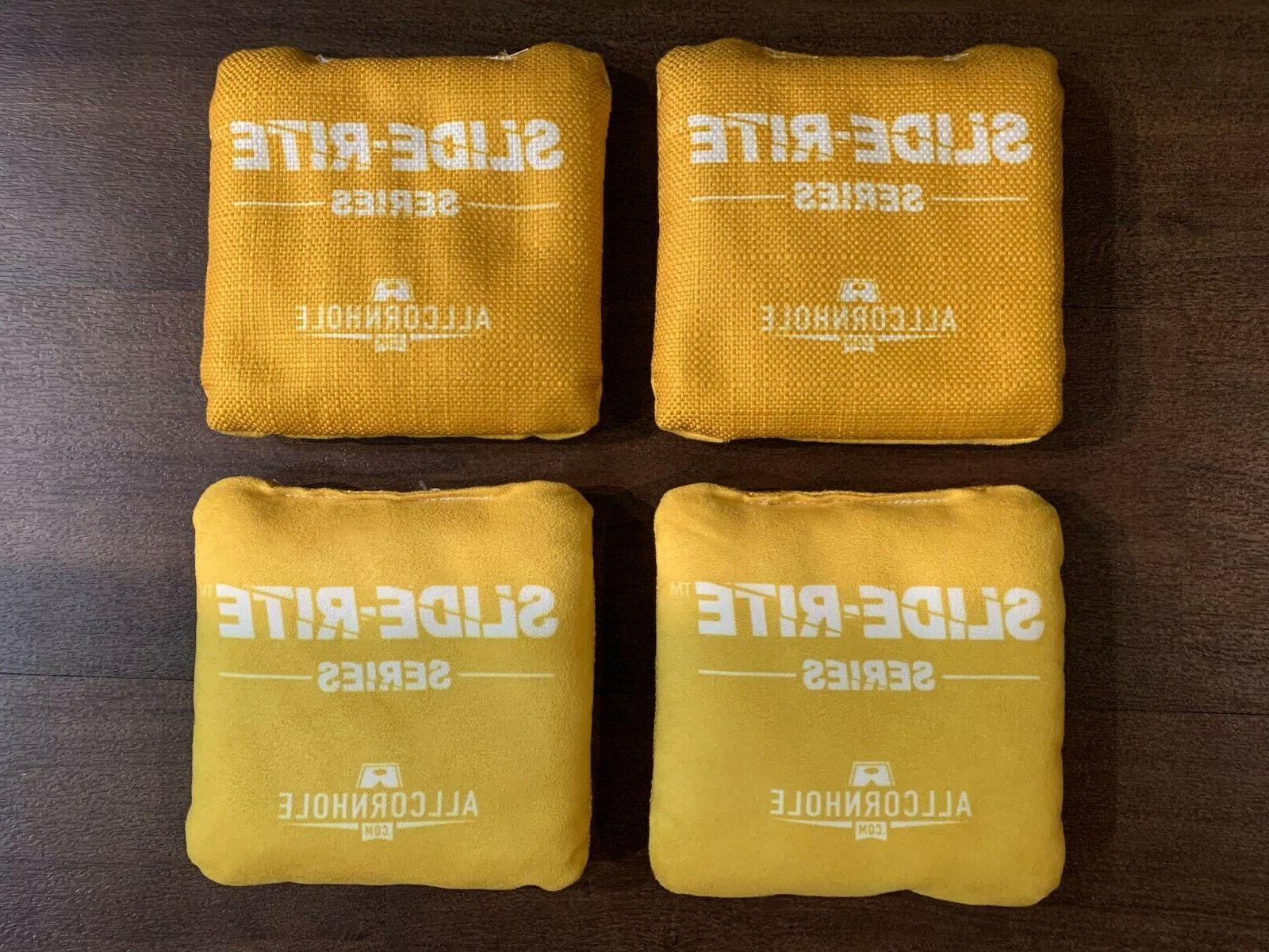 brand new slide rite pro cornhole bags
