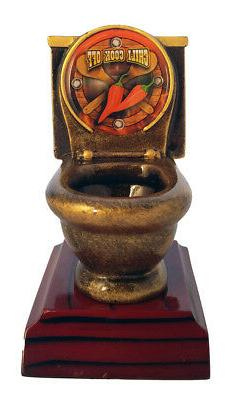 Chili Cook-Off Toilet Bowl Trophy / Last Place Award  by DEC