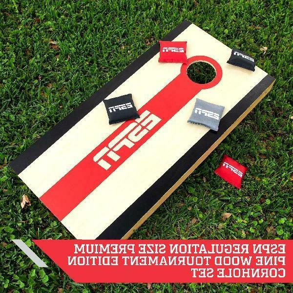 CORNHOLE - Bag Toss with Regulation Size Bags