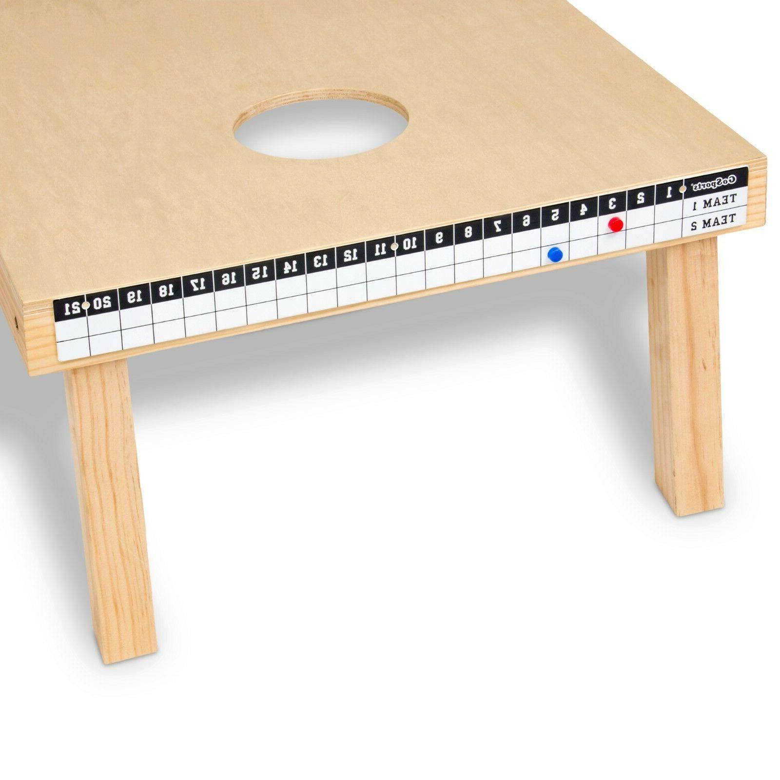 GoSports Cornhole Magnetic Scoreboard - Mounts to Any Cornho