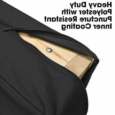 Heavy CORNHOLE Bean Bag CARRYING CASE - HOLDS BOARDS