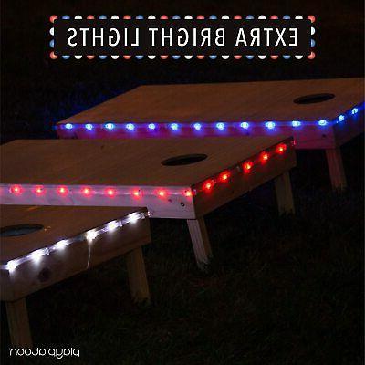 Play Platoon LED Board Lights Set of 2, - Hole Edge