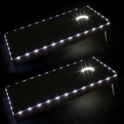 led cornhole lights for hole and board