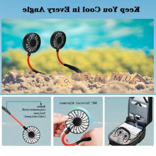 Neckband Rechargeable Cooling Lazy Neck Hanging
