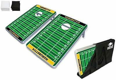PartyPongTables.com Pittsburgh Football 3' x 2' Aluminum Cor