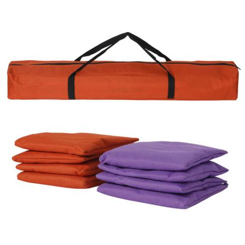 Collapsible Toss Game Set 8 Cornhole Bags