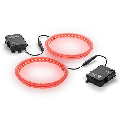 premium 36 led cornhole light ring set