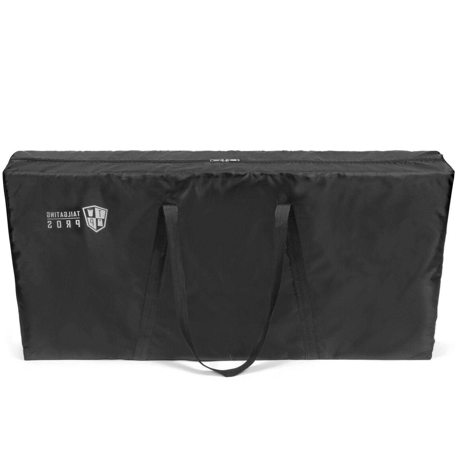 premium cornhole board carrying case tote bag