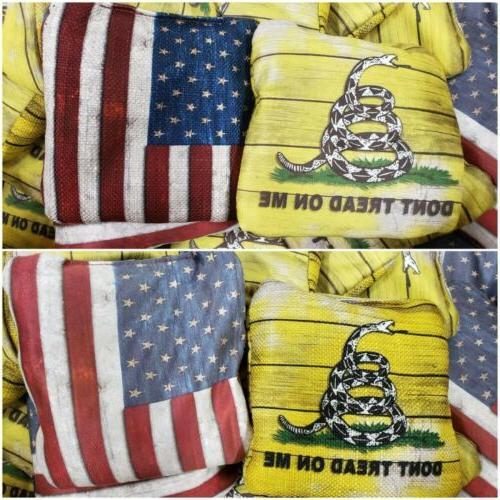 pro cornhole bags slick and stick all