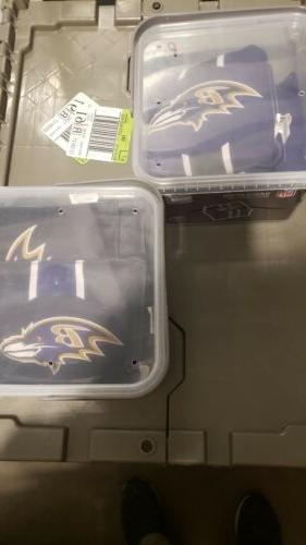 PROLINE NFL Bean Bags- Baltimore Ravens- 8