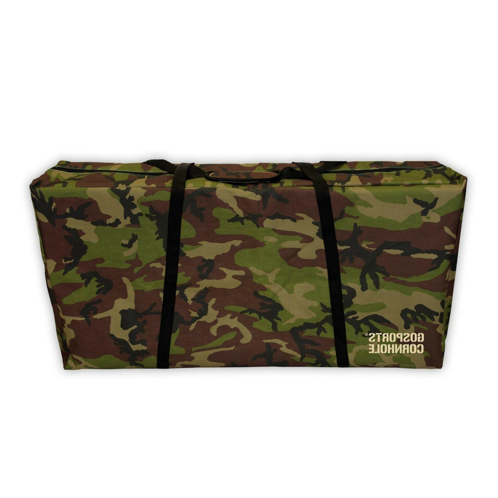 GoSports Regulation Size Camo Cornhole Carrying Case